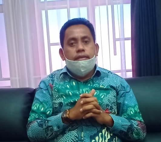 Juru Bicara Gugus Tugas Percepatan Penanganan Covid-19 Kota Tual Muchsin Ohoiyuf.