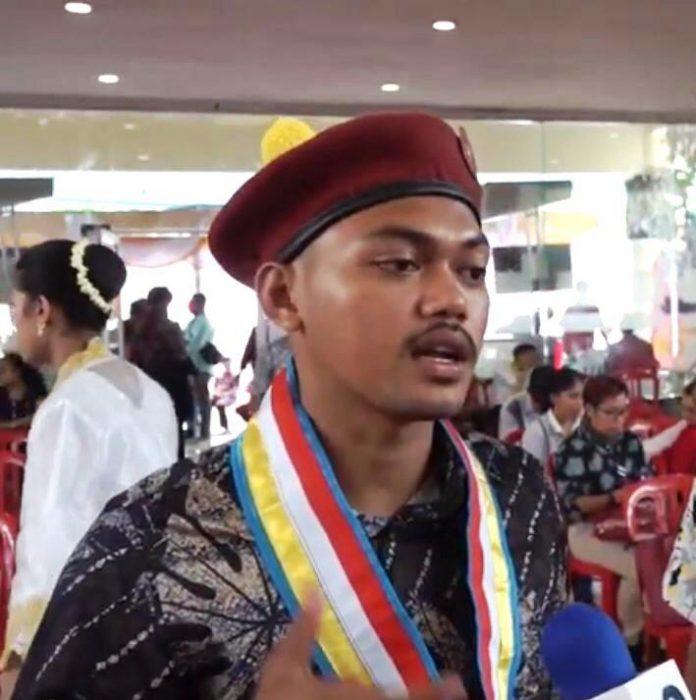Christian A. D. Rettob (Presidium Gerakan Kemasyarakatan PMKRI Cabang Ambon)