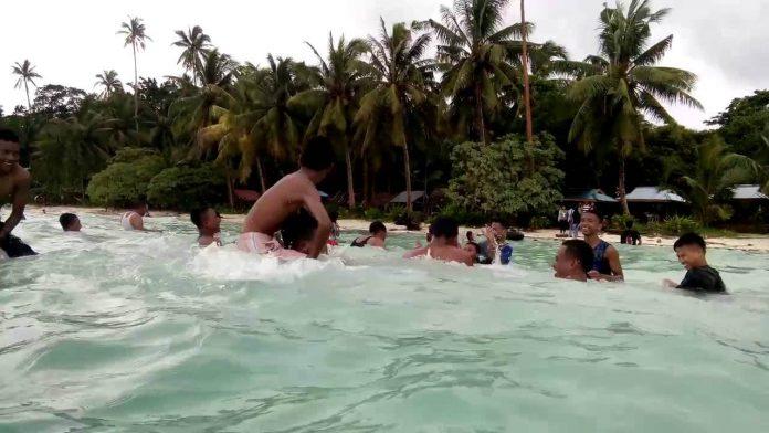 Lokasi wisata Pantai Ngursarnadan, Ohoililir Kecamatan Manyeuw Kabupaten Maluku Tenggara. Foto: YouTube Marco Mark (10/4/2016)