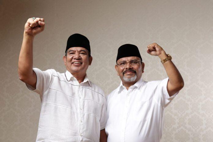Bupati Maluku Tenggara dan Wakil Bupati Maluku Tenggara Periode 2018-2023, Muhammad Thaher Hanubun dan Petrus Beruatwarin.