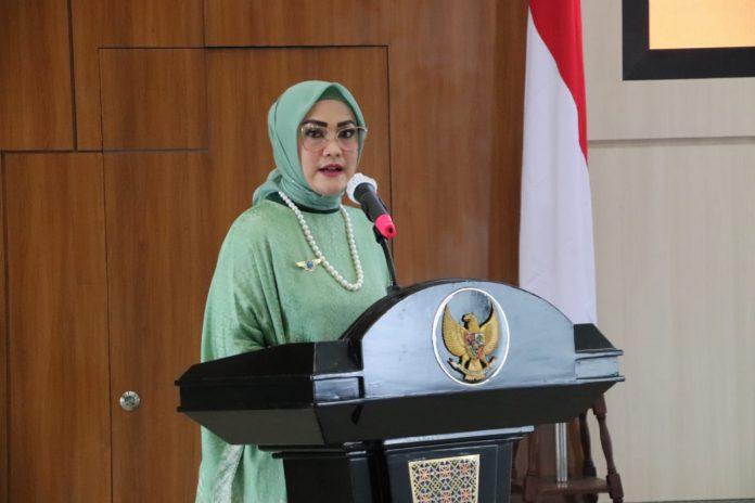 Ketua Dewan Penasehat DPD GANN Provinsi Maluku, Widya Murad Ismail