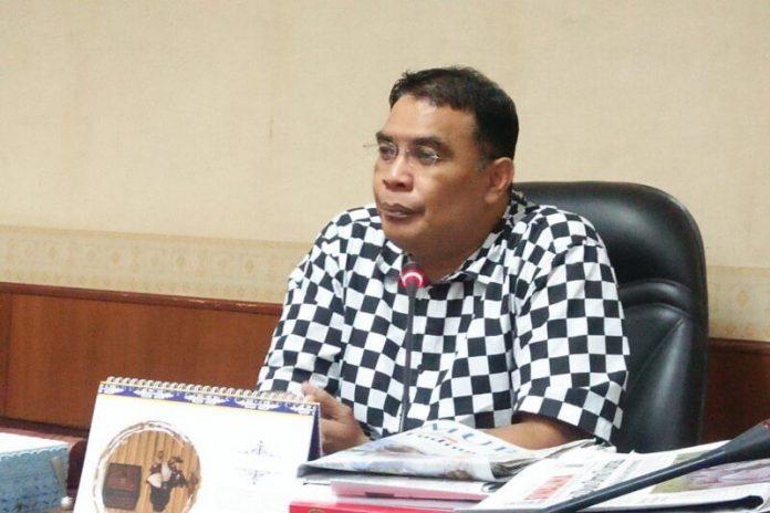 Anggota Legislatif dari Fraksi Golongan Karya (Golkar) Richard Rahakbauw