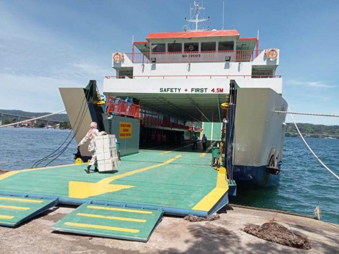 KMP Garda Maritim 5 resmi beroperasi pada 20 Januari 2021 dari pelabuhan Ferry Galala menuju Namlea.
