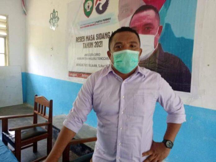 Anggota DPRD Kabupaten Maluku Tenggara Benedict Fadly Rejaan mengapresiasi langkah para camat melibatkan wakil rakyat dalam Musyawarah Perencanaan Pembangunan (Musrenbang). Foto: Fredy Jamrewav