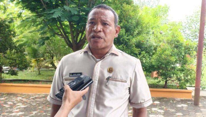 Anggota DPRD Kota Tual Zainal Gainal Abidin Kabalmay. Foto: Ludwiena Maturbongs