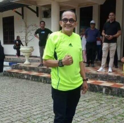 Kadis Capil Kota Bakri Kabalmay mengaku peningkatan pelayanan itu dilakukan, dalam rangka memenuhi target nasional. Kamis (15/04/21) Foto : Ludewina Maturbongs