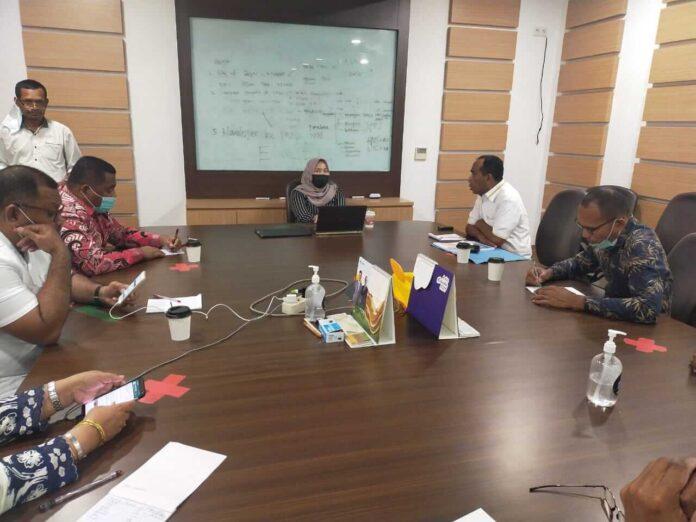 Pertemuan Komisi I DPRD Maluku di Kementerian Komunikasi dan Informatika Republik Indonesia (Kemkominfo RI).