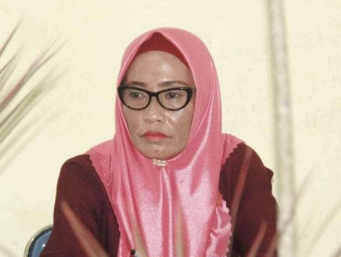 Anggota DPRD Kota Tual Aisa Renhoat. Foto: Ludwiena Maturbongs