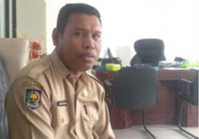 Kadis Lingkungan Hidup Kota Tual Jamaludin Renhoat, S.Pd.