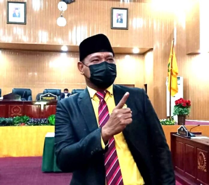 Politisi asal Partai Hati Nurani Rakyat (Hanura), Zainal Gainal Abidin Kabalmay