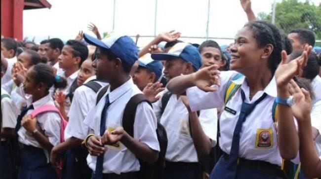 Ilustrasi anak SMP di Papua. Dok: Wartaplus