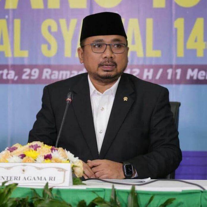 Menteri Agama (Menag) Yaqut Cholil Qoumas. Sumber Foto: setkab.go.id