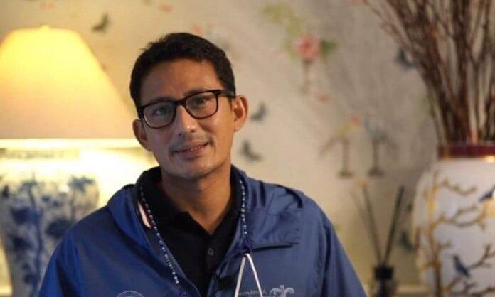 Menteri Pariwisata Dan Ekonomi Kreatif (Menparekraf) Sandiaga Salahudin Uno. Sumber Foto: Nusadaily.com