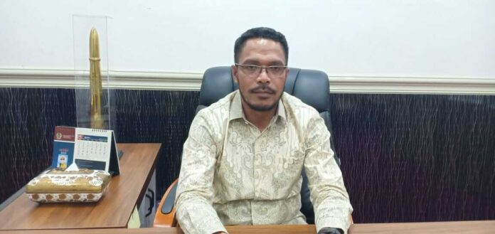 Ketua DPRD Kota Tual, Hasan Syarifudin Borut