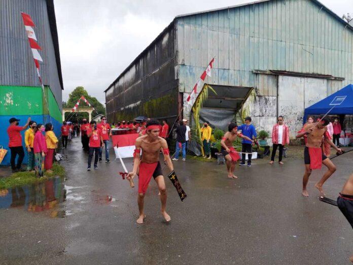 Perayaan HUT Kota Ambon di depan Pelabuhan Gudang Arang