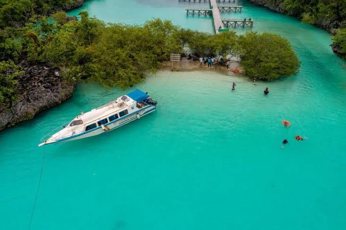 Pulau Bair, Kota Tual, Kepulauan Kei, Provinsi Maluku. Foto: Kompas.com