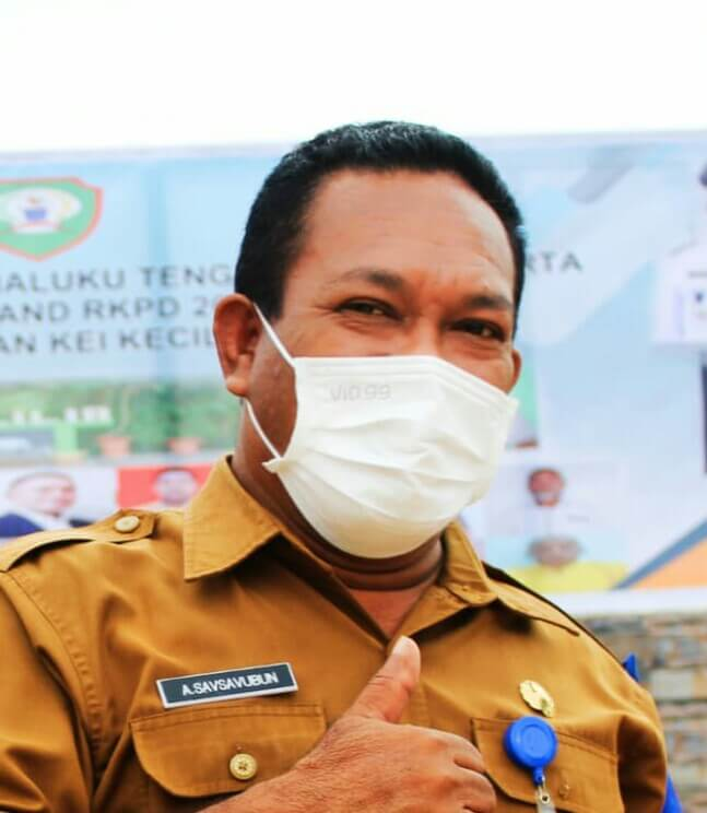 Sekretaris DPRD Kabupaten Maluku Tenggara Andreas Savsavubun. Foto: Dokpri